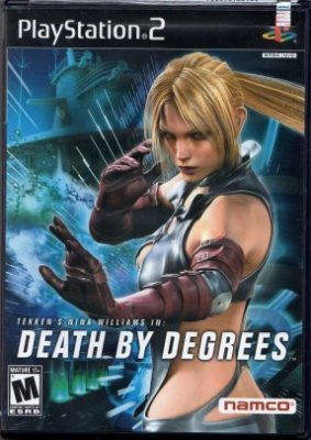 Death By Degrees Tekken Nina Williams PlayStation 2 PS2 Rated M Mature 17+