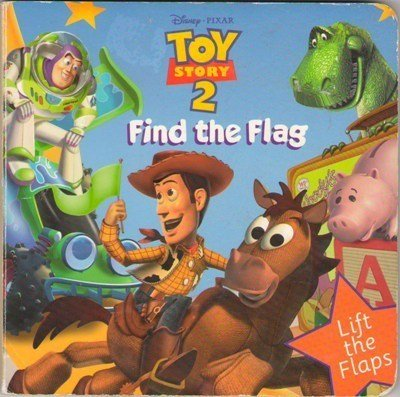 Find The Flag Toy Story 2 by Mary Hogan Fiction Fantasy Children Book