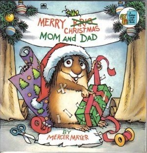 Merry Christmas Mom And Dad by Mercer Mayer Fiction Fantasy Children's Book
