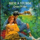 Ride a Storm by Quinn Wilder Harlequin Romance Book Novel 0373032587