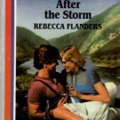 After the Storm by Rebecca Flanders Harlequin American Romance Book 0373161670