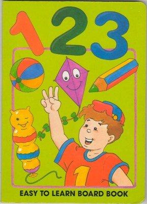 1 2 3 Easy To Learn Roger De Klerk Board Book Count 0710505302