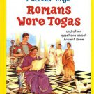 I Wonder Why Romans Wore Togas by Fiona Macdonald Hardcover 0753407620
