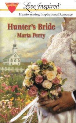 Hunter's Bride by Marta Perry Inspirational Romance Novel Fiction Fantasy Book