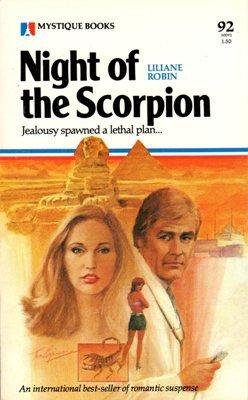 Night of the Scorpion by Liliane Robin Romance Suspense Book 0373500920