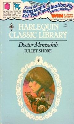 Doctor Memsahib by Juliet Shore Harlequin Classic Library Romance Book 0373800045