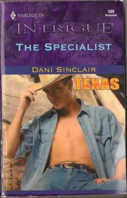 The Specialist by Dani Sinclair Harlequin Intrigue Romance Book Novel 037322589X
