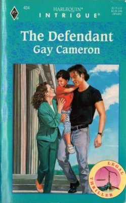 The Defendant by Gay Cameron Harlequin Intrigue Romance Book Novel 0373224044