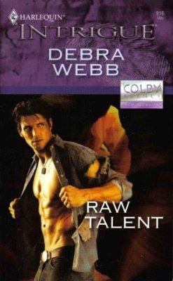 Raw Talent by Debra Webb Romance Book Harlequin Intrigue 037322916X