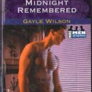 Midnight Remembered by Gayle Wilson Harlequin Intrigue Romance Book 0373225911