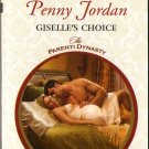 Giselle's Choice by Penny Jordan Harlequin Presents The Parenti Dynasty 0373129696