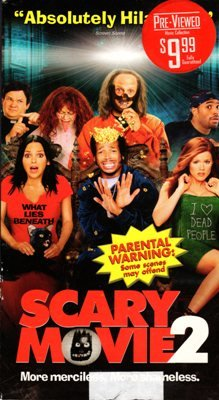 Scary Movie 2 Marlon Wayans Shawn VHS Movie Tape Hi-Fi Dolby Surround Video 14A