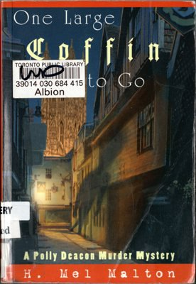 One Large Coffin To Go by H. Mel Malton Mystery Ex-Library Book Novel 1894917014 Used -Good