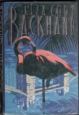 Backhand by Liza Cody Anna Lee Mystery Hardcover Ex-Library Book 0770424406