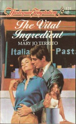 The Vital Ingredient by Mary Jo Territo Harlequin Temptation Book Novel 0373252218