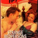 Strange Bedpersons by Jennifer Crusie Harlequin Temptation Ex-Library 0373256205
