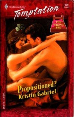 Propositioned by Kristin Gabriel Harlequin Temptation 0373691092 Book Novel