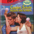 Passion and Scandal by Candace Schuler Harlequin Temptation Book Novel 0373256574