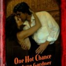 One Hot Chance by Darlene Gardner Harlequin Temptation Book Novel 0373691262