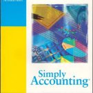 User Guide Simply Accounting ACCPAC International Version Book Microsoft Windows