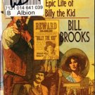 The Stone Garden by Bill Brooks Life Of Billy The Kid Ex-Library Book 0812570057