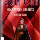 The Ruby Tear by Suzy McKee Charnas Rebecca Brand Ex-Library Book 0812571320