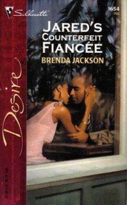Jared's Counterfeit Fiancee by Brenda Jackson Contemporary Romance Book Novel 0373766548