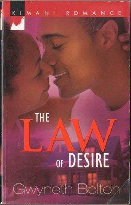 The Law Of Desire by Gwyneth Bolton Fiction Fantasy Romance Book Novel 0373860943