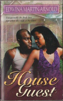 House Guest by Edwina Martin-Arnold Suspense Romance Fiction Book Novel 1583145419
