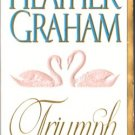 Triumph by Heather Graham Fiction Fantasy Romance Novel Book 0451408497