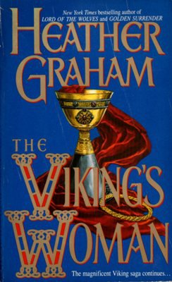 The Viking's Woman by Heather Graham Historical Romance Book Novel 0440206707