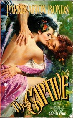 The Captive by Parris Afton Bonds Historical Romance Book Novel 0843934913