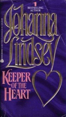 Keeper Of The Heart by Johanna Lindsey Historical Romance Fiction Book Novel 0380774933