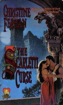 The Scarletti Curse by Christine Feehan Paranormal Fiction Romance Novel Book 050552421X
