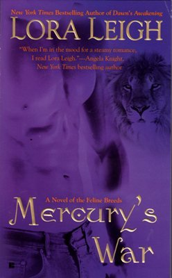 Mercury's War by Lora Leigh Paranormal Romance Breeds Fiction Novel Book 042522418X