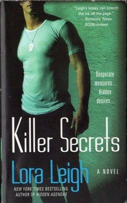 Killer Secrets by Lora Leigh Romance Book Fantasy Fiction Desire Novel 0312939949
