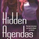 Hidden Agendas by Lora Leigh Tempting Seals Romance Book Novel Fiction 0312939930