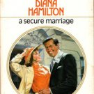 A Secure Marriage by Diana Hamilton Harlequin Presents Romance Book Novel 0373112483