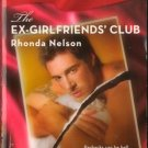 The Ex-Girlfriends' Club by Rhonda Nelson Harlequin Blaze Book Novel 037379326X