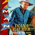 That Burke Man by Diana Palmer Silhouette Desire Novel Fiction Book 0373059132