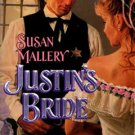 Justin's Bride by Susan Mallery Harlequin Historical Romance Book Novel 0373288700