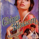 China Blossom by Margaret Moore Harlequin Historical Ex-Library Book 0373287496