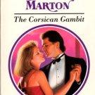 The Corsican Gambit by Sandra Marton Harlequin Presents Fiction Novel Book 0373116373