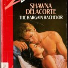 The Bargain Bachelor by Shawna Delacorte Silhouette Desire Ex-Library 0373057598