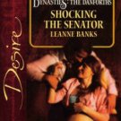 Shocking The Senator by Leanne Banks Silhouette Desire Romance Book Novel 0373766211