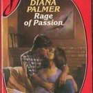 Rage of Passion by Diana Palmer Silhouette Desire Romance Novel Book 0373053258