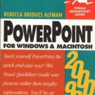 PowerPoint For Windows & MacIntosh by Rebecca Bridges Altman Book 0201354411