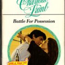 Battle For Possession by Charlotte Lamb Harlequin Presents Ex-Library Book 0373115091 - Good
