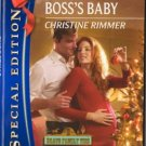 Expecting The Boss's Baby by Christine Rimmer Silhouette Special Edition 0373655592