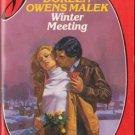 Winter Meeting by Doreen Owens Malek Silhouette Desire Novel Book 0373052405